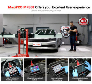 Image 3 - Autel MaxiPRO MP808 outil de Diagnostic Scanner OBD2 Scanner OBDII outils automobiles comme MAXIDAS DS808 MaxiSys MS906 mise à jour de DS708