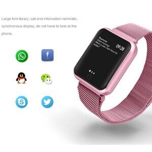 Image 2 - P68 Smart Bracelet Multi Sport Wristband IP68 Waterproof Activity Fitness Tracker Heart Rate Watch Men Women