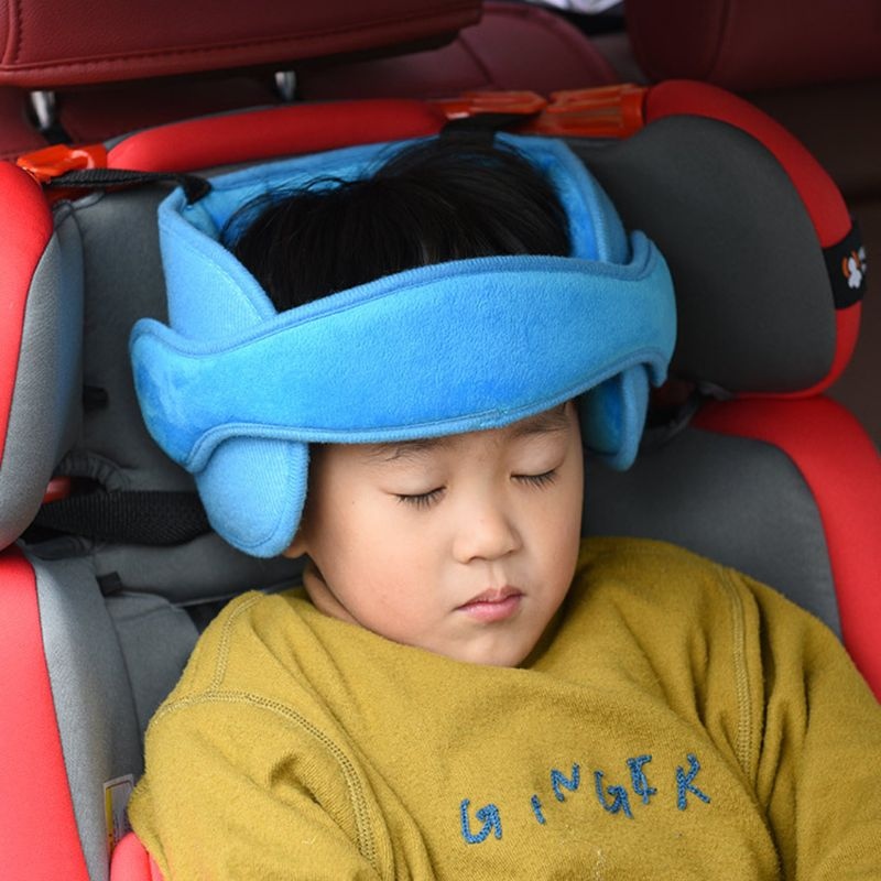 Baby Head Support Safety Carseat Straps Covers Toddler Car Seat Adjustable Sleep Positioner Stroller Accessories DXAD