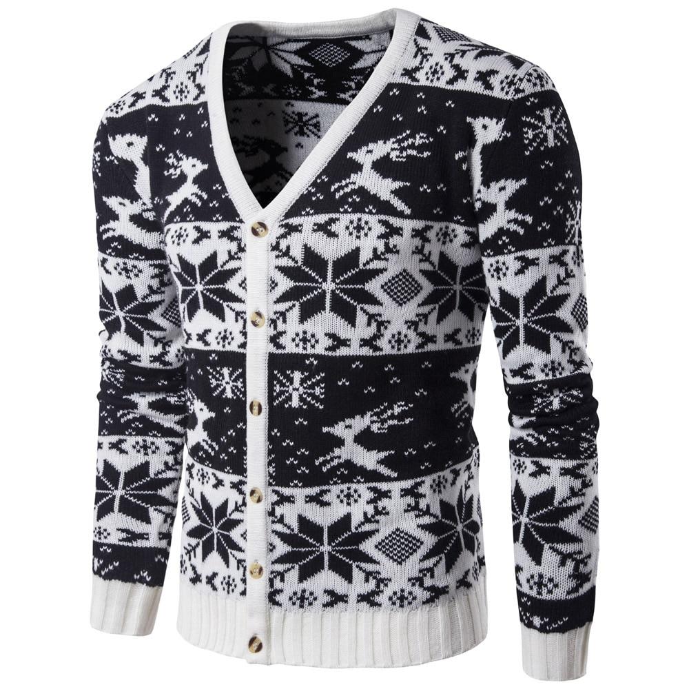Купить мужская осенне зимняя одежда новый рождественский стиль базовый