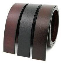 LannyQveen брендовый ремень из натуральной воловьей кожи, ремень без пряжки, ремни из натуральной кожи, автоматический ремень с пряжкой для мужчин, высокое качество