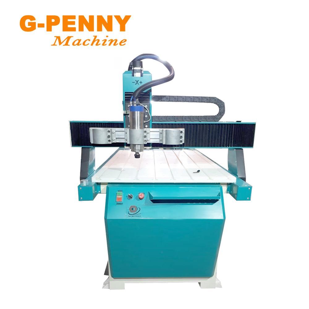 Купить с кэшбэком G-PENNY 110V/220V 800W CNC Spindle Motor Water Cooling Cooled 24000rpm 80X200mm for CNC Milling Machine Wood Working Lathe