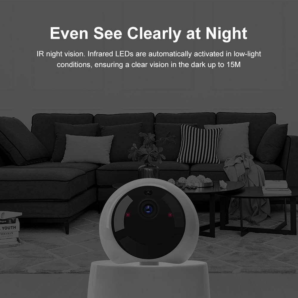 Mini Smart Wireless Baby Monitor Camera With Night Vision For child Security With Activity Alert 2