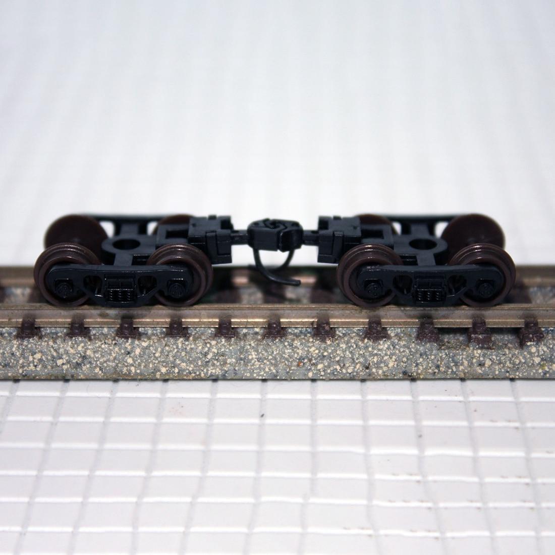 1:160 Train Bogie Model Train Wheel Bogie Set For N-scale Train Model For Bachmann Model Building Kit 2019 New Arrival