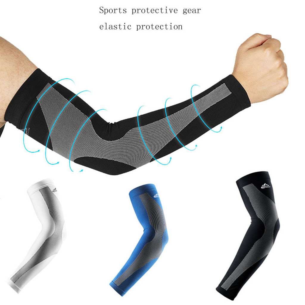 UV Sun Protection Breathable Arm Sleeves for Sports Basketball Cycling US FAST