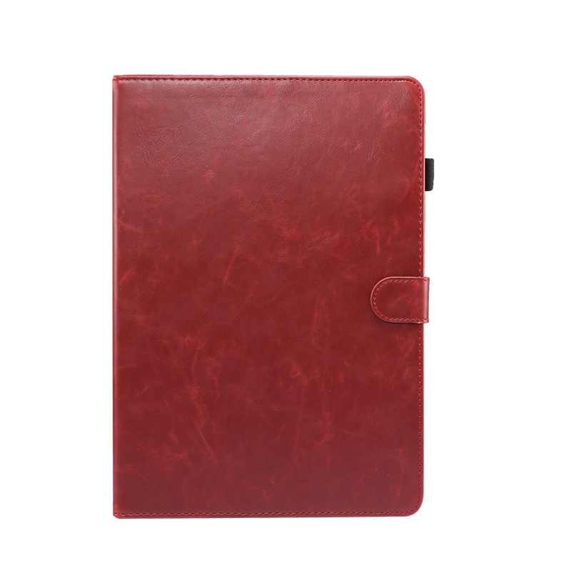 Red Red Case For iPad 10 2 inch 2020 Cover Smart flip leather Stand Card slot wallet Tablet