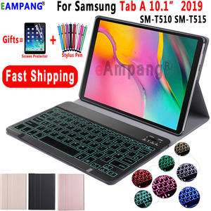 Case T515 SM-T510 Samsung Galaxy Cover for Tab-A Keyboard-Case T510/T515/Sm-t510/Sm-t515