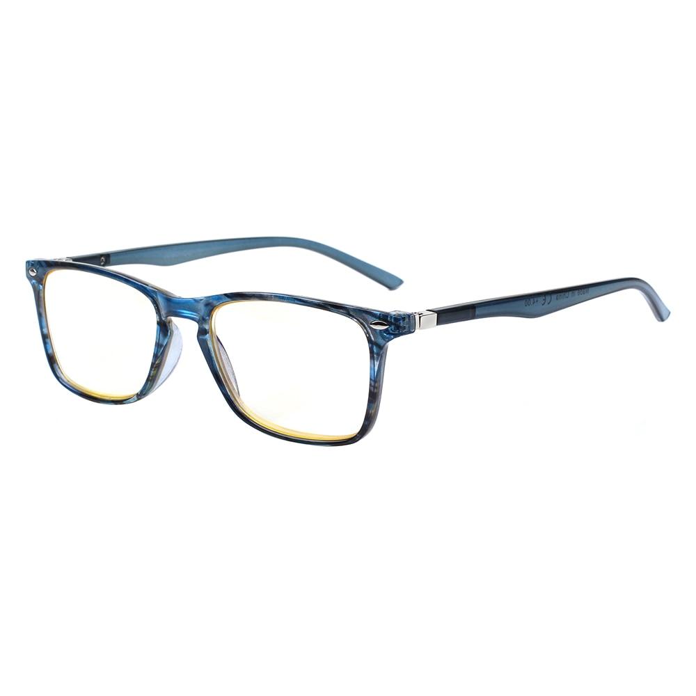 Gafas de lectura para hombres y mujeres, anteojos de lectura con bisagra de resorte, dioptrías 2021 0,5 2. 0 1,75 3,0, color azul, 4,0