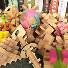 Kong Ming story 3Dwooden puzzle cube/ball/love/рамочный замок обучающий Монтессори кубический Шар Детские игрушки для детей хобби подарок для взрослых