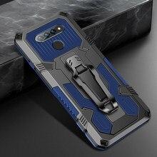 Funda para LG Stylo 6 K61 Aristro 5 Pro, a prueba de golpes, anillo magnético, soporte militar
