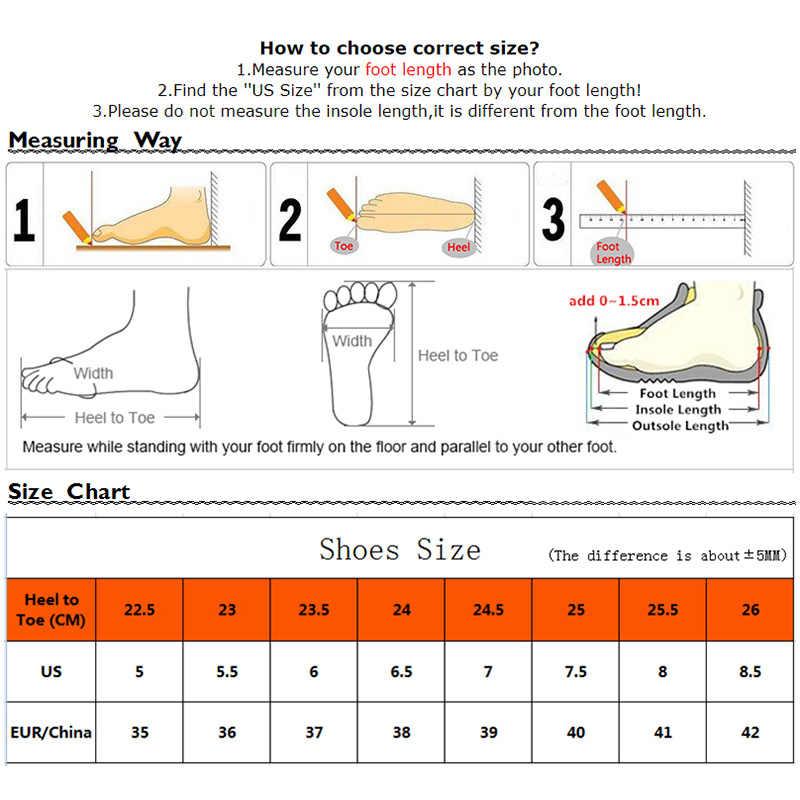 Thời Trang Nữ Siêu Nhẹ Giày Chạy Bộ Thể Thao Ngoài Trời Giày Lưới Thoáng Khí Thoải Mái Chạy Bộ Đệm Không Khí Phối Ren