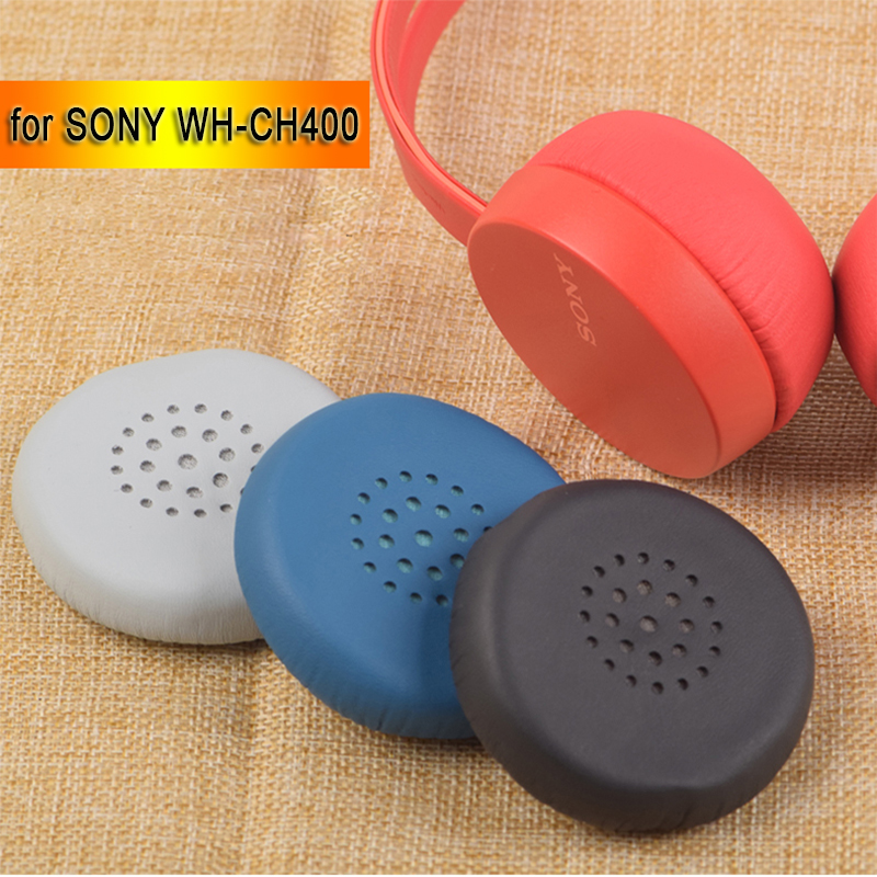1 Pair Replacement Sleeve For Sony WH-CH400 CH400 CH 400 Headset Headphone Earmuff  Ear Pads Cushion Cover Earpads Pillow