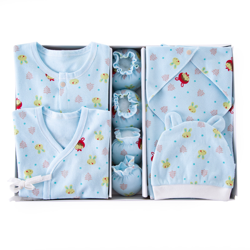 Pure Cotton Clothes For Babies Newborns Gift Box Spring And Summer Just Born Early In Baby Set Maternal And Child Supplies BABY'