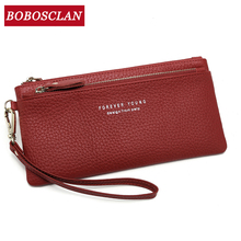 BOBOSCLAN 2020 Women Wallet Many Departments Clutch Lady Pur