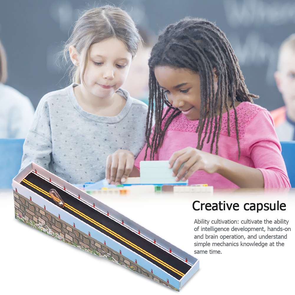 Kids Student DIY Capsule Gravity Kit Exercise Judgment And Discrimination School Science Experiment Educational Toys