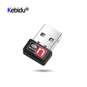 Portable Mini USB Adapter 150Mbps Wi-Fi Adapter MT7601 For PC USB Ethernet WiFi Dongle 2.4G Network Card Wi Fi Receiver