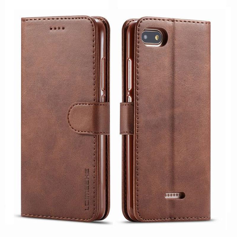 Роскошные Чехлы для Xiaomi Redmi 6A 7A, чехол, магнитный откидной бумажник, винтажные кожаные сумки для телефона Xiomi Redmi Note 7 6 A Pro, чехол