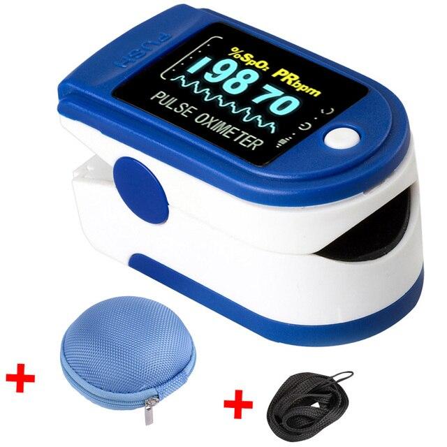 Medical Fingertip Pulse Oximeter De Dedo Pulso Oximetro Home family Pulse Oxymeter Pulsioximetro finger pulse oximeter