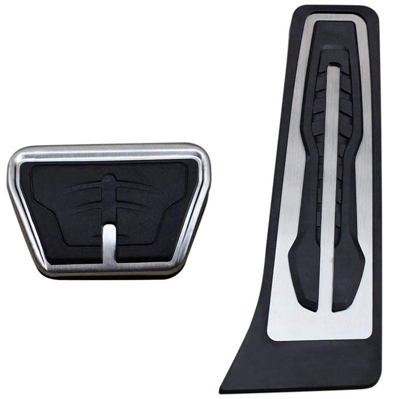 Gas Brake <font><b>Pedal</b></font> Cover Set For <font><b>Bmw</b></font> X3 X4 X5 X6 2 3 4 5 6 7 Series G20 <font><b>F30</b></font> G30 G11 G01 G02 G05 F15 F16 F22 F25 image