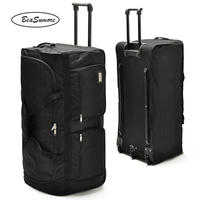 BeaSumore 32/40 inch Large Capacity Travel Bag Men Multifunction Rolling Luggage Trolley Suitcases Wheel