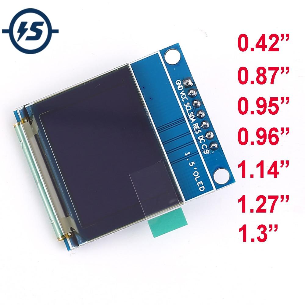 TFT OLED LCD Display Module SPI RGB SSD1306 SSD1351 SSD1331 ST7789 ST7789 Driver 0.42