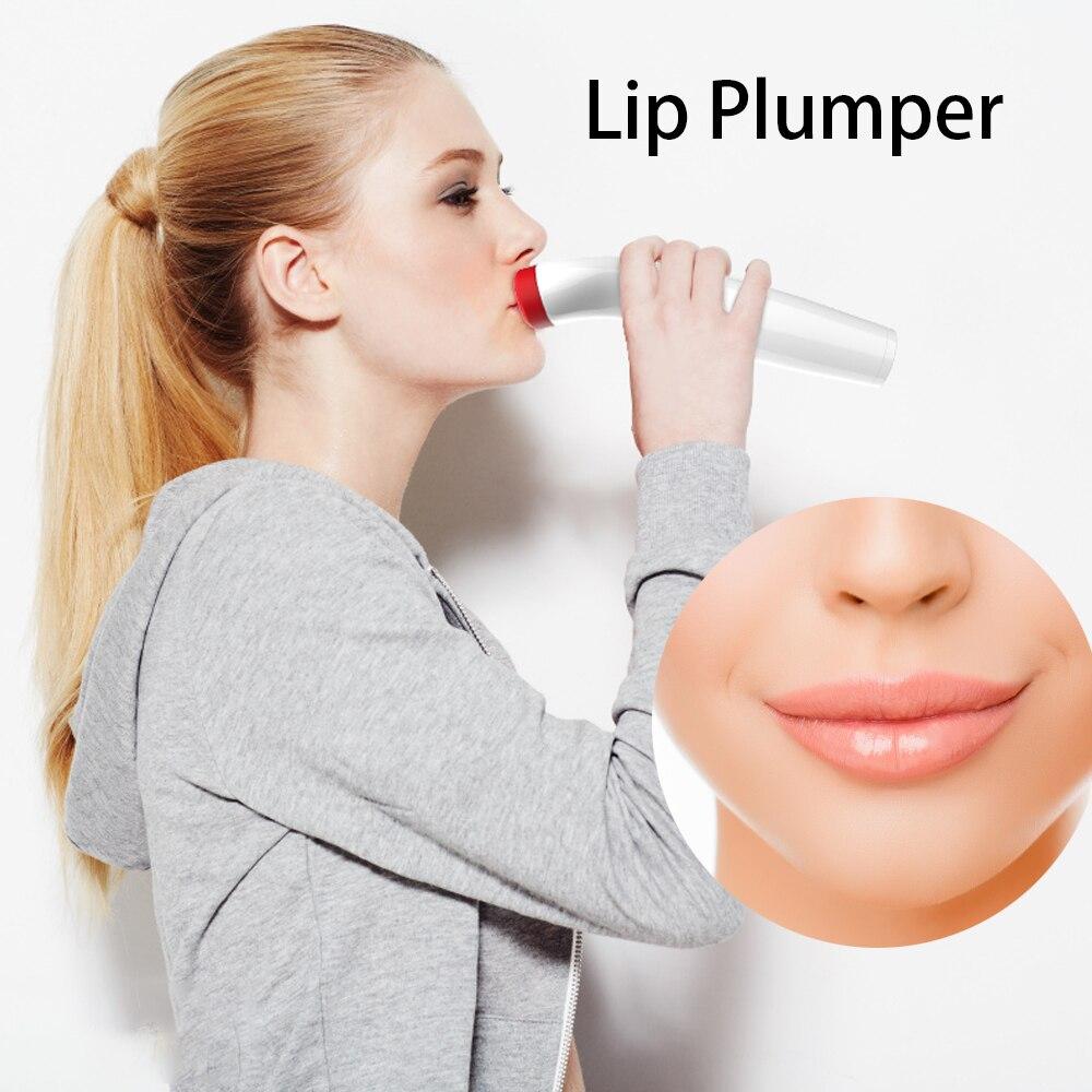 Silicone Lip Plumper Device Electric Care Tool Natural Sexy Reduce Lip Fine Lines Moisturizing Lip Elasticity Beauty Lip Device