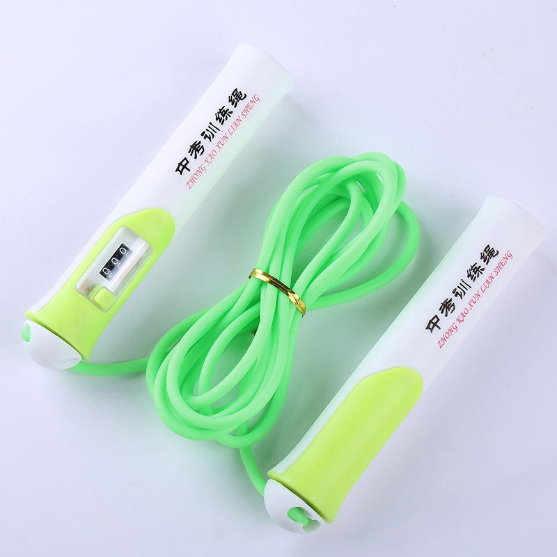 New Style Count Jump Rope School Sports Supplies The Academic Test For The Junior High School Students Count Jump Rope The Acade