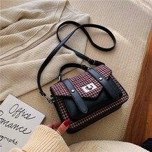 حقائب اليد النسائية شرابة بولي Leather حقيبة جلدية حقيبة يد علوية مقبض التطريز حقيبة كروسبودي حقيبة كتف سيدة نمط بسيط حقائب اليد