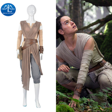 2016 Womens Outfit Rey Cosplay Costume Adult Women Halloween Wholesale Factory Price