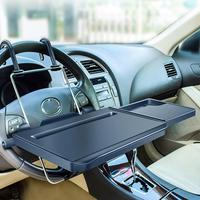 Hot New Multi functional Car Seat Back PC Mount Tray Black Table Laptop Notebook Desk Table Dining Food Drink Desk Cup Holder