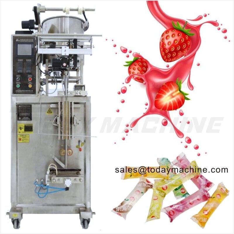 VFFS Automatic Honey Stick Pack Packing Machine Sachet Liquid Yogurt Packaging Machine Food and Beverage Packing Machine Food & Beverages Machines