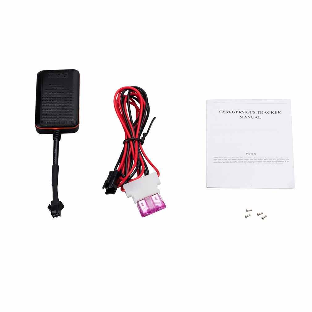 Портативный размер мини gps трекер устройство слежения за автомобилем мотоцикл GSM Дистанционный Определитель местоположения с контролем в режиме реального времени