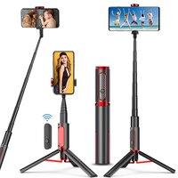 Bastão de selfie 3 em 1 bluetooth, tripé monopé para xiaomi mi redmi huawei honor iphone samsung smartphone, telefone móvel