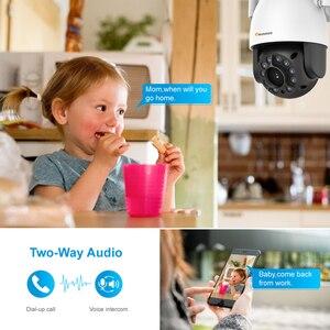 Image 5 - Einnov Wifi IP Camera Wireless Security Camera Outdoor 1080P HD Surveillance Camara Audio Onvif 2MP IR Night Vision P2P Camhi SD