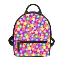 women bag large capacity for teenage girls light ladies travel backpack Dot pattern Print Custom patterns backpacks