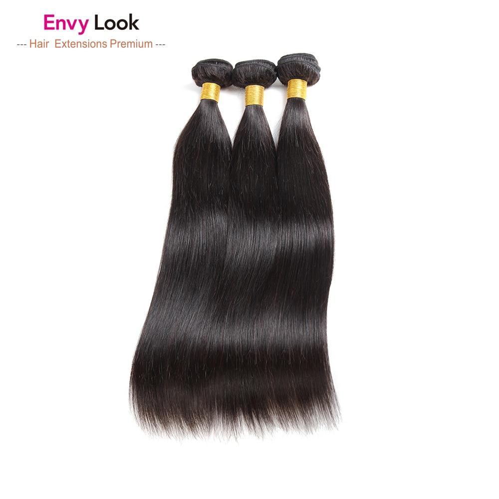 cabelo humano 3 4 pacotes brasileiro não-remy