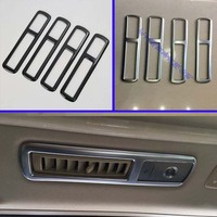 For 2016 2019 Toyota Alphard Vellfire AH30 Car Accessories ABS Rear Roof Air Confitioner AC Vent Frame Cover Trim