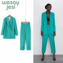 women blazer suit autumn fashion slim office lady b