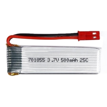 1Pcs 3.7V 500Mah 25C Lipo Battery Model 701855 With Jst Plug For Fpv Rc image