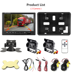 Image 5 - Jansite 9 inch Wired Car monitor TFT Car Rear View Monitor Parking Rearview System for Backup Reverse Camera for Farm Machinery