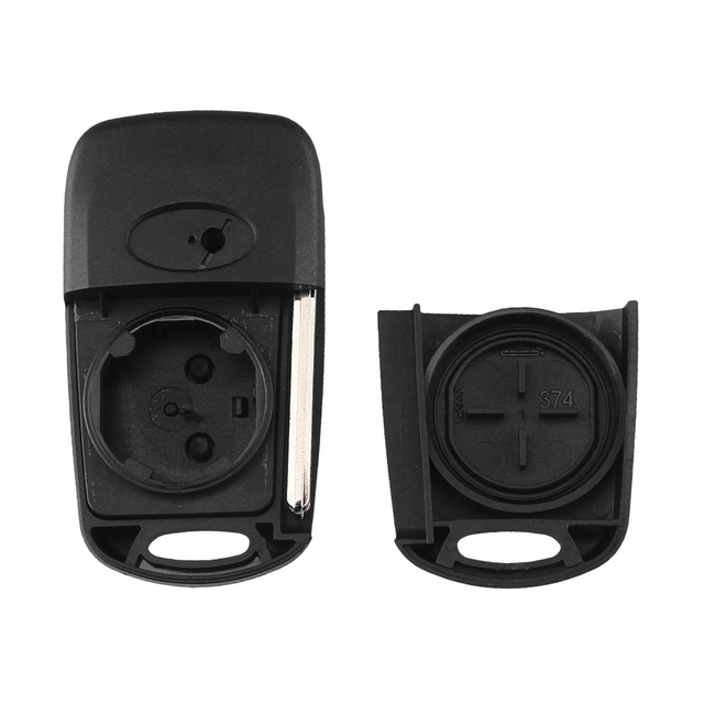 KEYYOU Replacement Remote Car Key Shell 3 BT Flip Folding Key Case For Kia K2 K5 Rio 3 Picanto Ceed Cerato Sportage For Hyundai 2