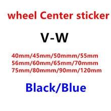 4 шт. Цвет: черный, синий Центральная втулка колеса автомобиля крышки эмблемы крышки Стикеры 40 45 50 55 56 60 65 70 75 80 90 120 мм Дорожный мотоцикл аксесс...