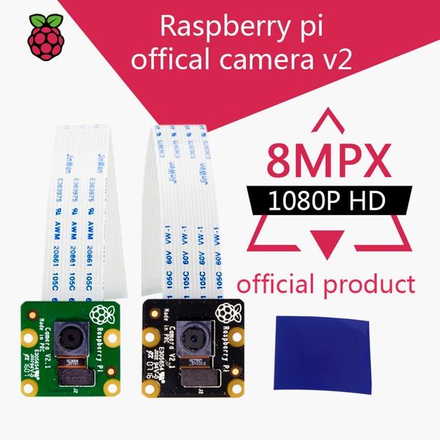 New Raspberry Pi 3 Model B + Camera V2 Video Module 8MP