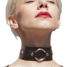 BDSM Nero Punk Spike Rivetti Della Collana Del Choker Fetish Cuoio DELL'UNITÀ di elaborazione di Anime Collane Donne Girocolli Collare Bondage Harness Collana(China)