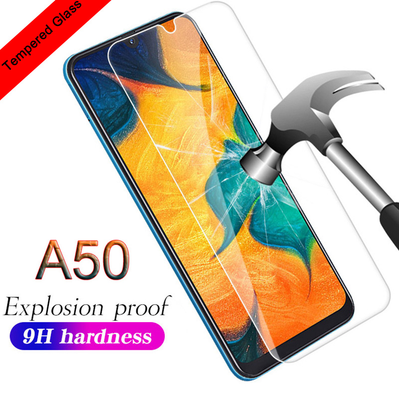 9H Protective Glass For <font><b>Samsung</b></font> A40 A30 A20 A10 For <font><b>Samsung</b></font> <font><b>Galaxy</b></font> A50 Phone <font><b>Screen</b></font> <font><b>Protector</b></font> A70 A80 A90 A60 Phone Hard Glass image