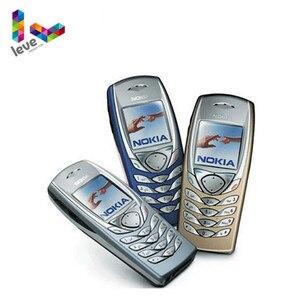 Разблокированный телефон Nokia 6100, GSM 900/1800, бывший в употреблении и Восстановленный, Поддержка многоязычного сотового телефона, бесплатная до...