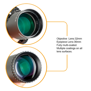 Image 4 - ohhunt LR 2.75 15X32 SFIR Hunting Scope Glass Etched Reticle Red Illumination Side Parallax Turret Lock Reset Riflescopes