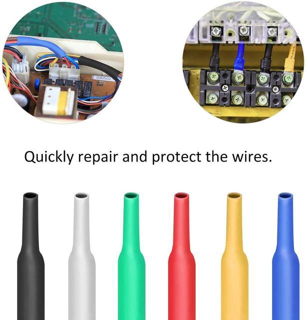 164 pz/set kit di Calore del tubo termoretraibile Guaina Isolante termoretractil Poliolefina Shrinking Assortiti Tubi Termorestringenti Wire Cable