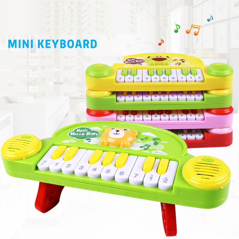 Children Music Instrument Toys Keyboard Piano 10 Keys Sound Kids Musical Toy Animal Cute Fun Colorful Baby Educational Toy Gifts