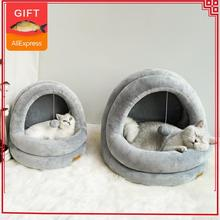 Bed-Toy Kennel Nest Beds Cat-House Cats Kittens Home Pet Cozy Dog Indoor-Products Cave